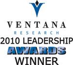 Ventana Research 2010 Leadership Award